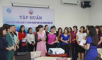 Gỡ nút thắt kỹ năng quản lý doanh nghiệp nhỏ cho doanh nhân nữ